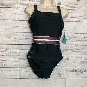 Speedo Black Swim Suit